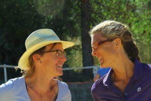 Lily Merklin und Bibi Degn
